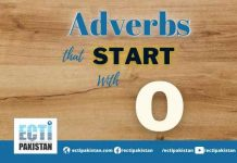 Adverbs Start With O