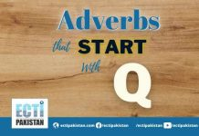Adverbs Start With Q