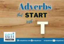 Adverbs Start With T