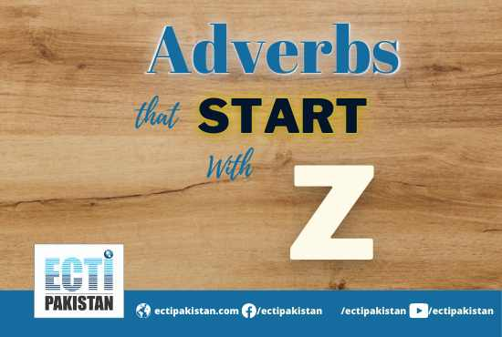 Adverbs Start With Z