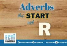 Adverbs Start With R