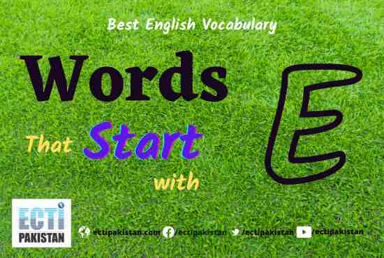 Words Start With E