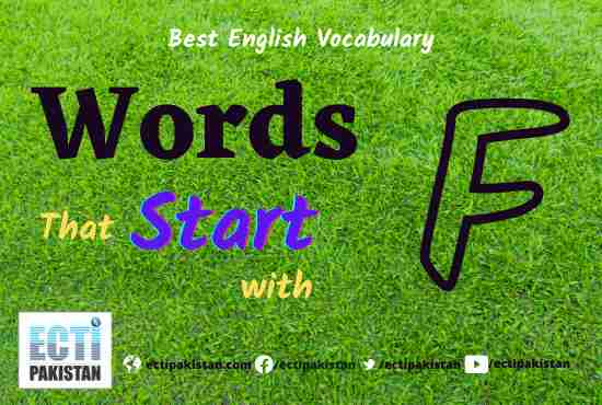Words Start With F