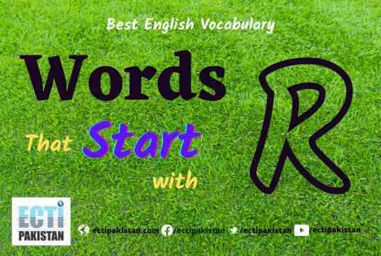 Words start with R